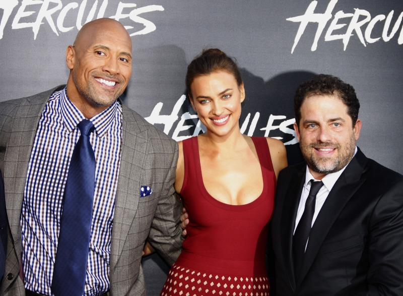 Hércules : Vignette (magazine) Brett Ratner, Dwayne Johnson, Irina Shayk