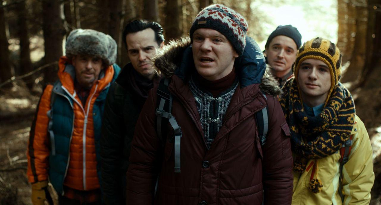 The Stag : Foto Andrew Bennett, Andrew Scott, Brian Gleeson, Hugh O'Conor, Michael Legge