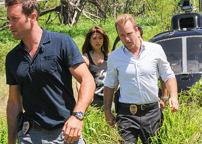 Foto Alex O'Loughlin, Grace Park, Scott Caan