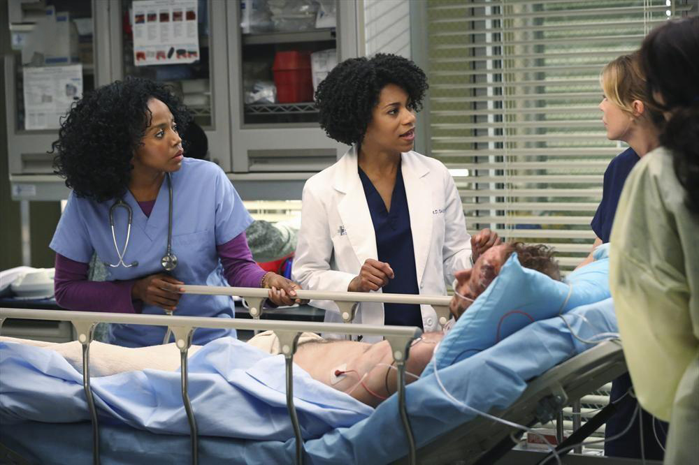 Foto Christopher Redman, Jerrika Hinton, Kelly McCreary