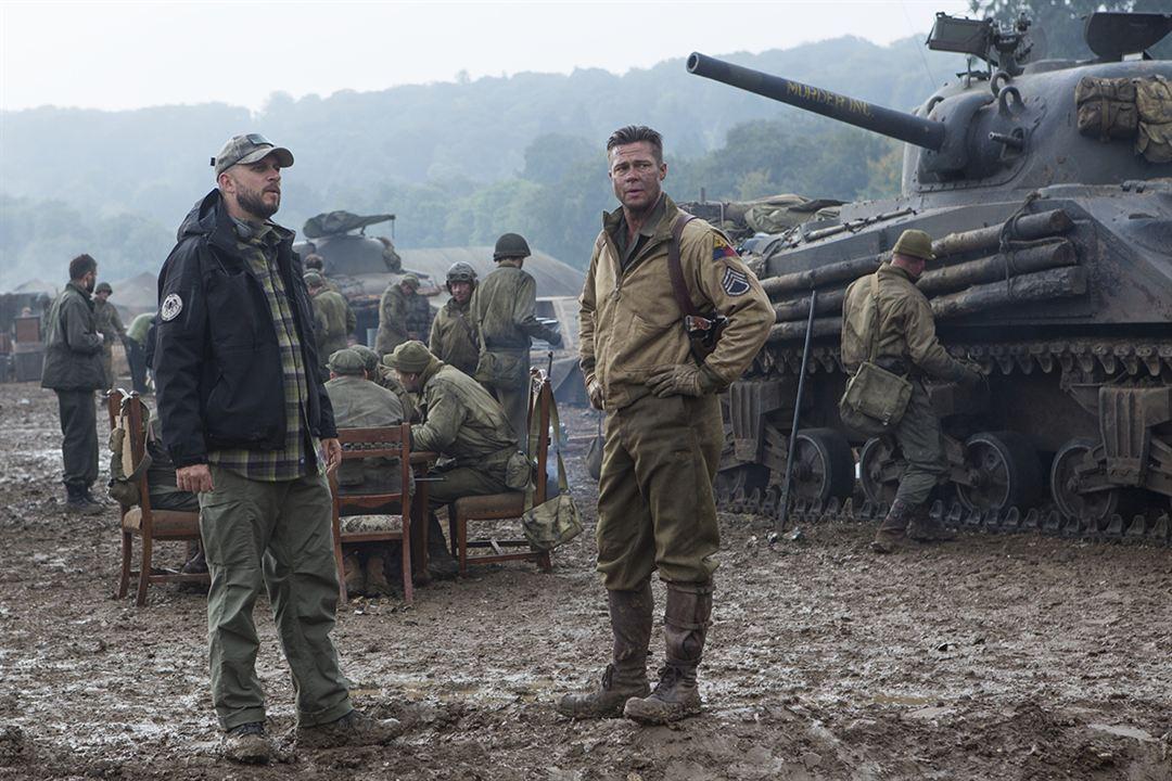 Corações de Ferro : Foto Brad Pitt, David Ayer