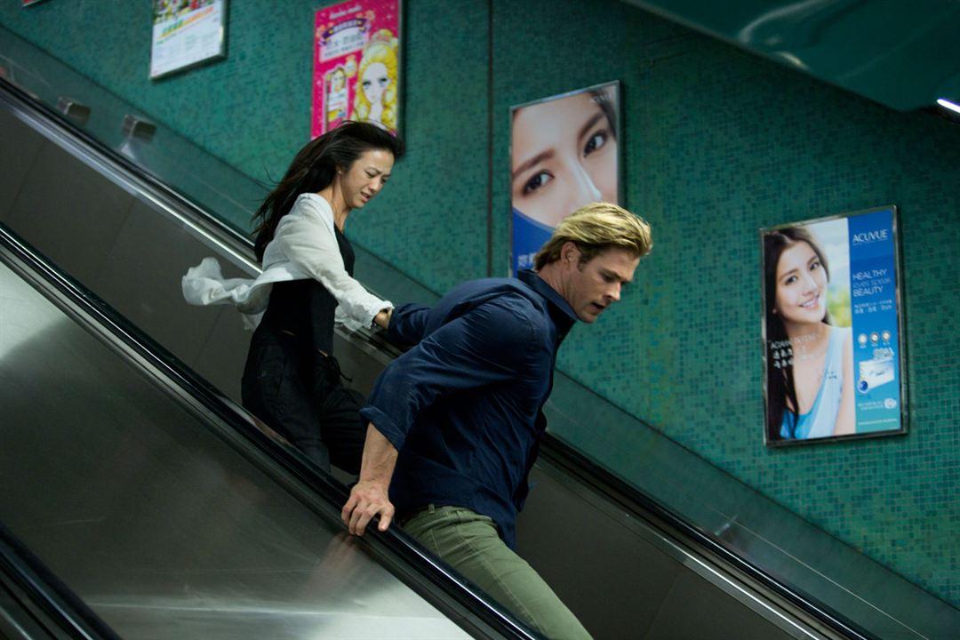 Hacker : Foto Chris Hemsworth, Tang Wei