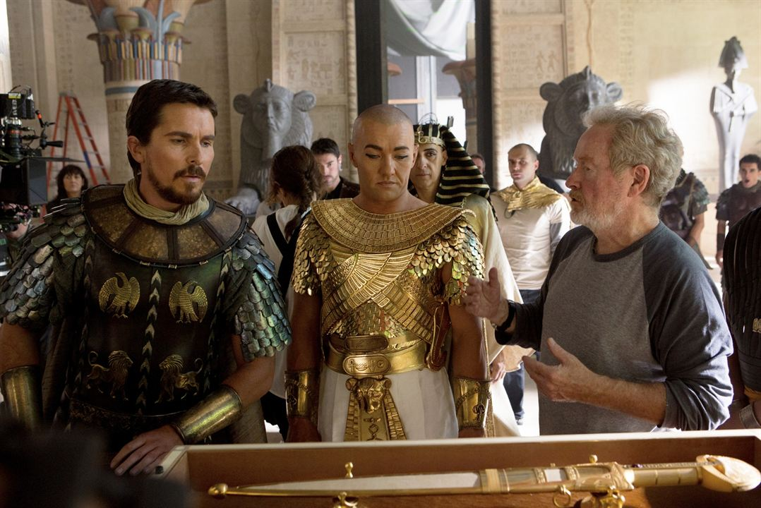 Êxodo: Deuses e Reis : Foto Christian Bale, Joel Edgerton, Ridley Scott