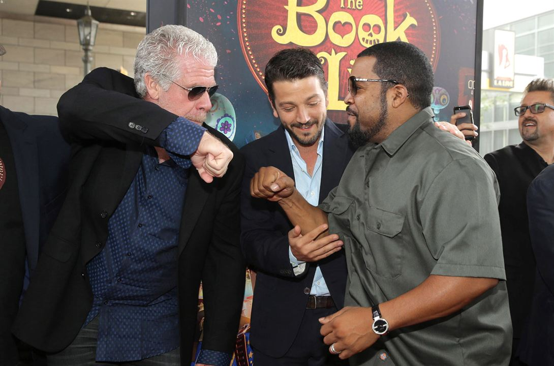 Festa no Céu : Vignette (magazine) Diego Luna, Ice Cube, Ron Perlman