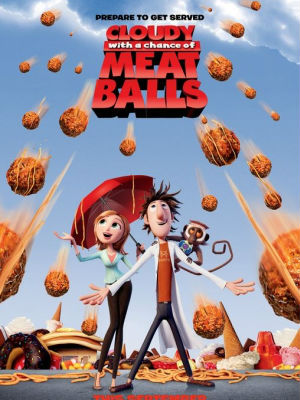 Cloudy With a Chance of Meatballs : Poster