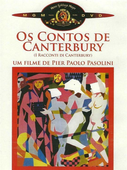 Os Contos De Canterbury : Poster