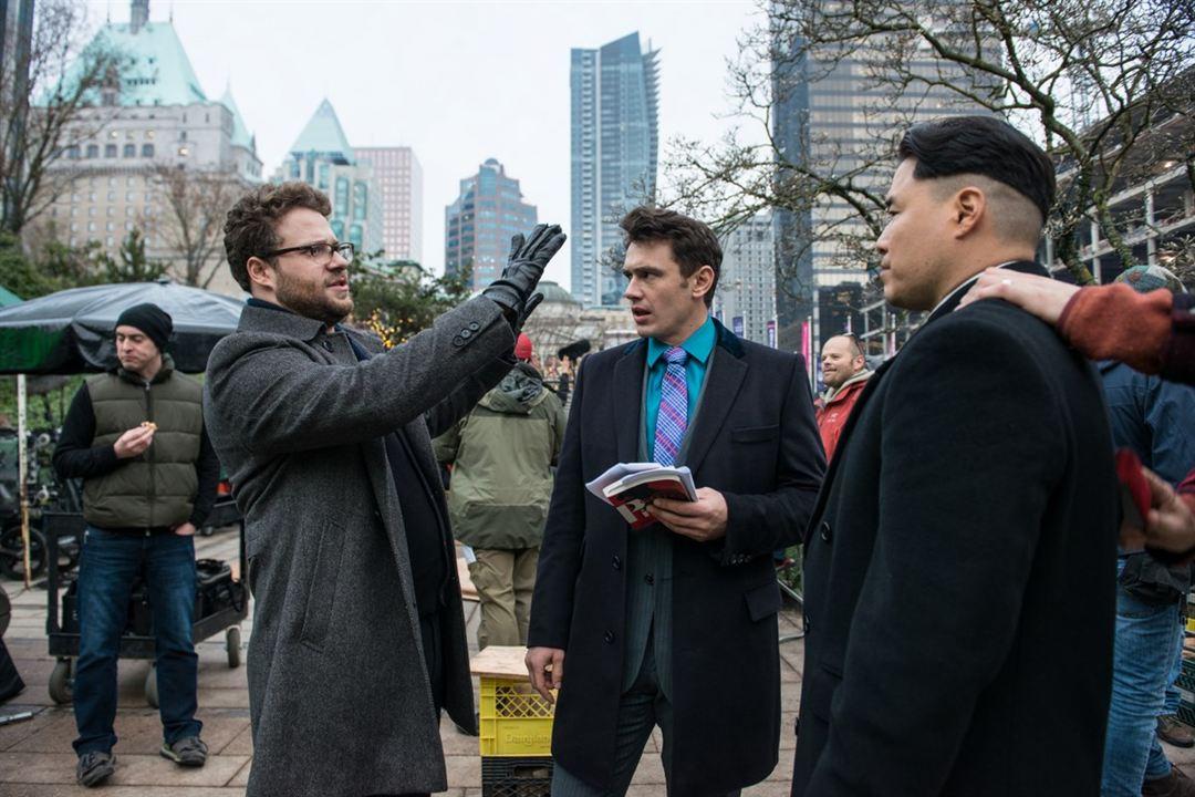 A Entrevista : Foto James Franco, Randall Park, Seth Rogen