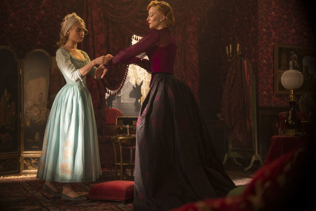 Cinderela : Foto Cate Blanchett, Lily James