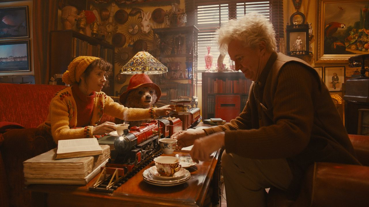 As Aventuras de Paddington : Foto Jim Broadbent, Sally Hawkins
