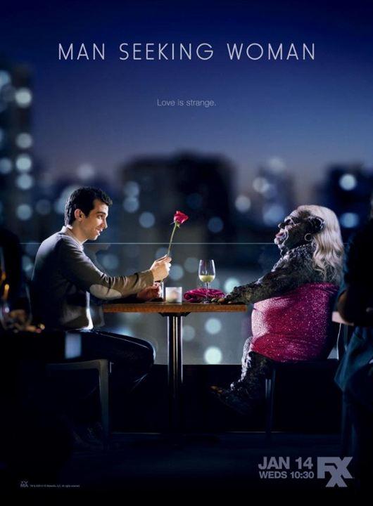 Man Seeking Woman : Poster
