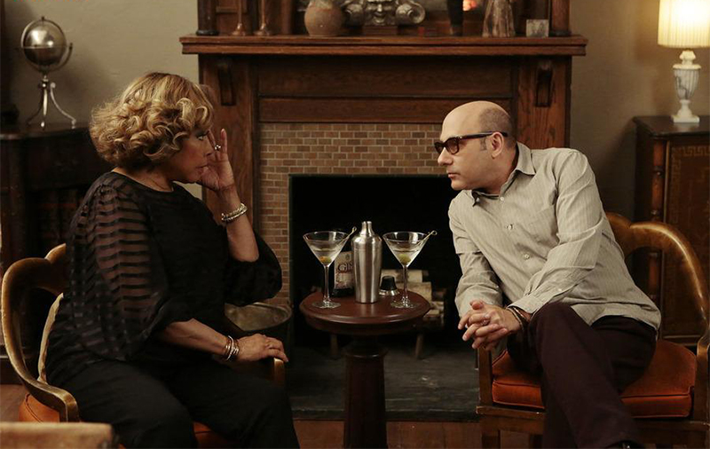 Foto Diahann Carroll, Willie Garson