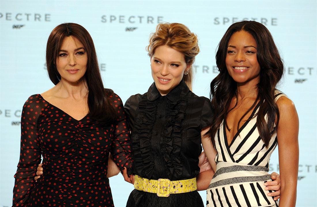 007 Contra Spectre : Vignette (magazine) Léa Seydoux, Monica Bellucci, Naomie Harris