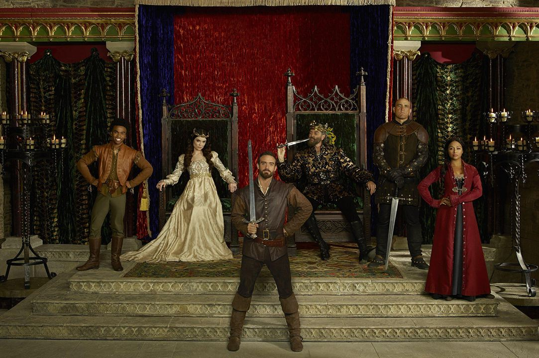 Galavant : Foto Karen David, Luke Youngblood, Mallory Jansen, Timothy Omundson, Vinnie Jones