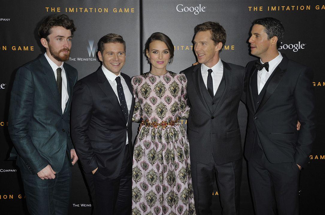 O Jogo Da Imitação : Vignette (magazine) Allen Leech, Benedict Cumberbatch, Keira Knightley, Matthew Goode
