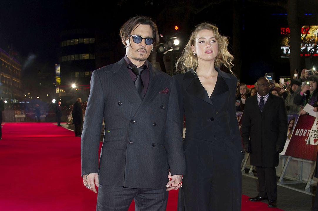 Mortdecai - A Arte da Trapaça : Vignette (magazine) Amber Heard, Johnny Depp