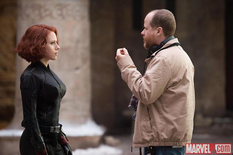 Vingadores: Era de Ultron : Foto Joss Whedon, Scarlett Johansson