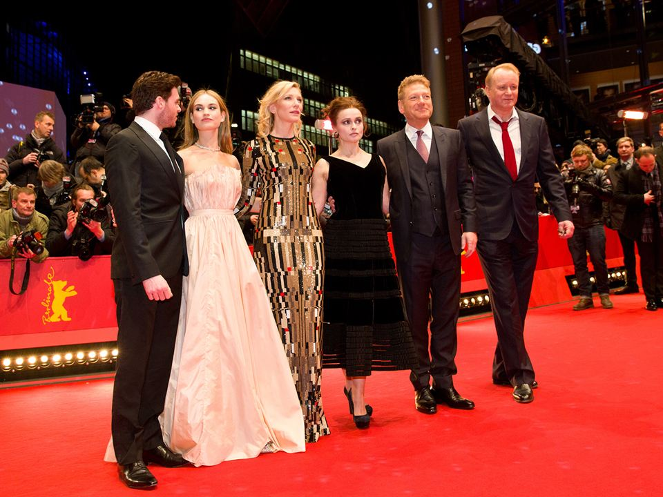 Cinderela : Vignette (magazine) Cate Blanchett, Helena Bonham Carter, Kenneth Branagh, Lily James, Richard Madden
