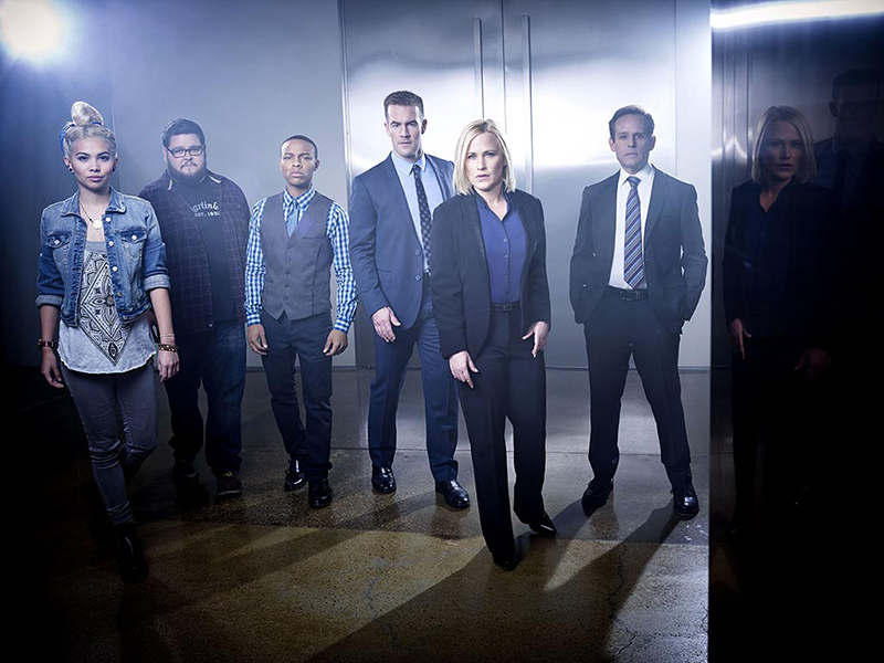 CSI: Cyber : Foto Charley Koontz, Hayley Kiyoko, James Van Der Beek, Patricia Arquette, Peter MacNicol