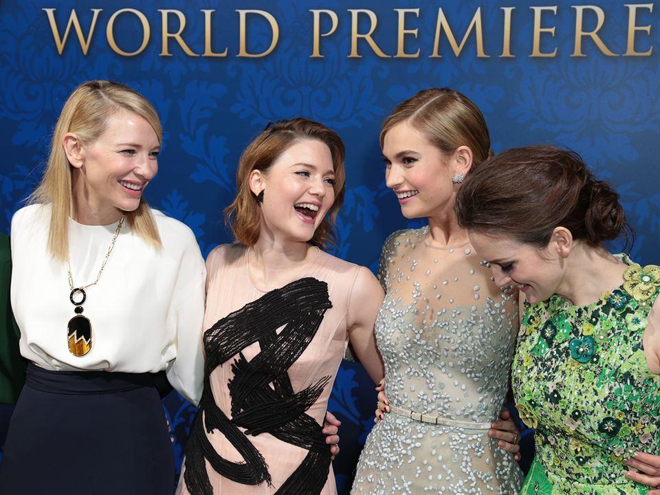 Cinderela : Vignette (magazine) Cate Blanchett, Holliday Grainger, Lily James, Sophie McShera