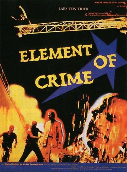 Elemento de um Crime : Poster