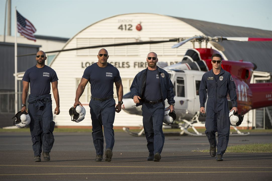 Terremoto - A Falha de San Andreas : Foto Colton Haynes, Dwayne Johnson, Matt Gerald, Todd Williams