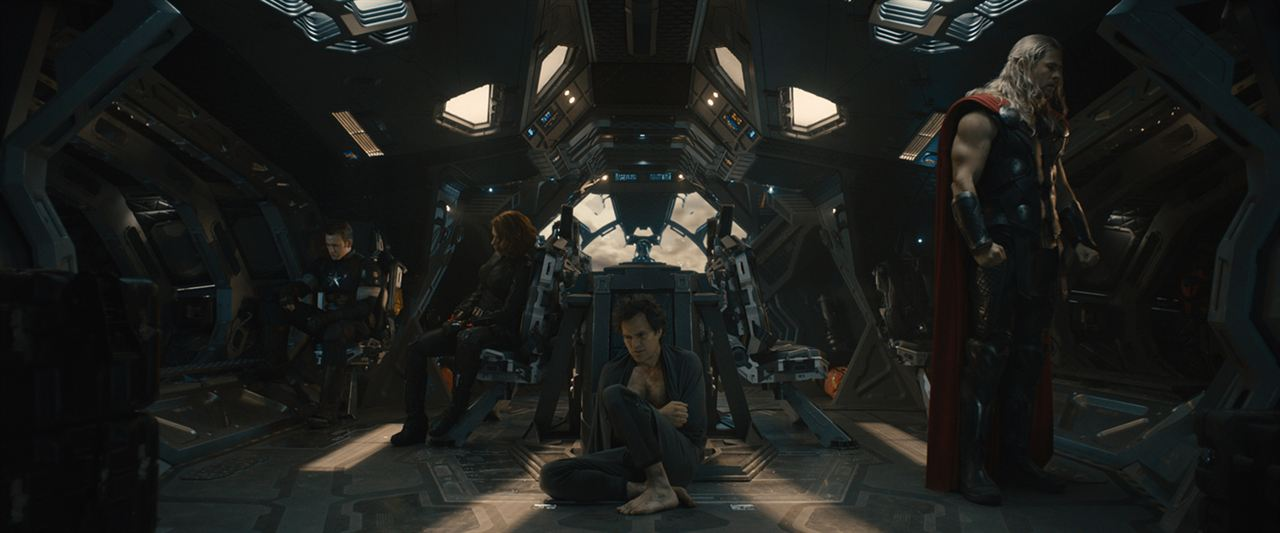 Vingadores: Era de Ultron : Foto Chris Evans, Chris Hemsworth, Mark Ruffalo, Scarlett Johansson