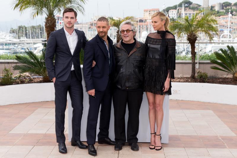 Mad Max: Estrada da Fúria : Vignette (magazine) Charlize Theron, George Miller, Nicholas Hoult, Tom Hardy