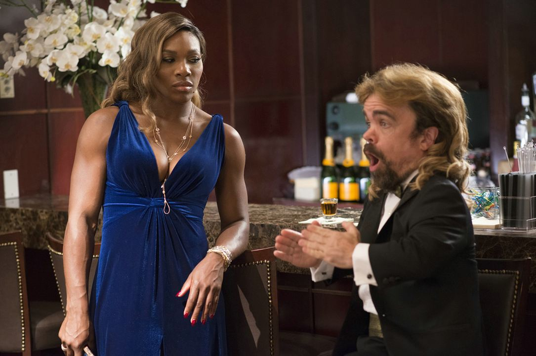 Pixels : Foto Peter Dinklage, Serena Williams