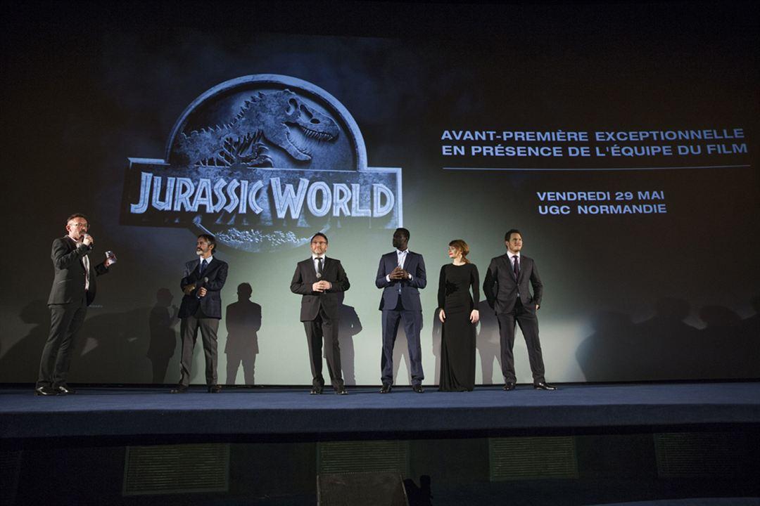 Jurassic World - O Mundo dos Dinossauros : Vignette (magazine) Bryce Dallas Howard, Chris Pratt, Colin Trevorrow, Omar Sy