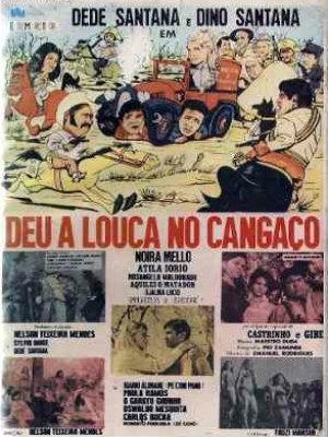Deu a Louca no Cangaço : Poster