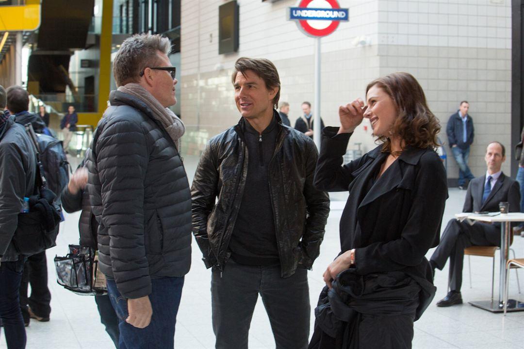 Missão Impossível - Nação Secreta : Foto Christopher McQuarrie, Rebecca Ferguson, Tom Cruise