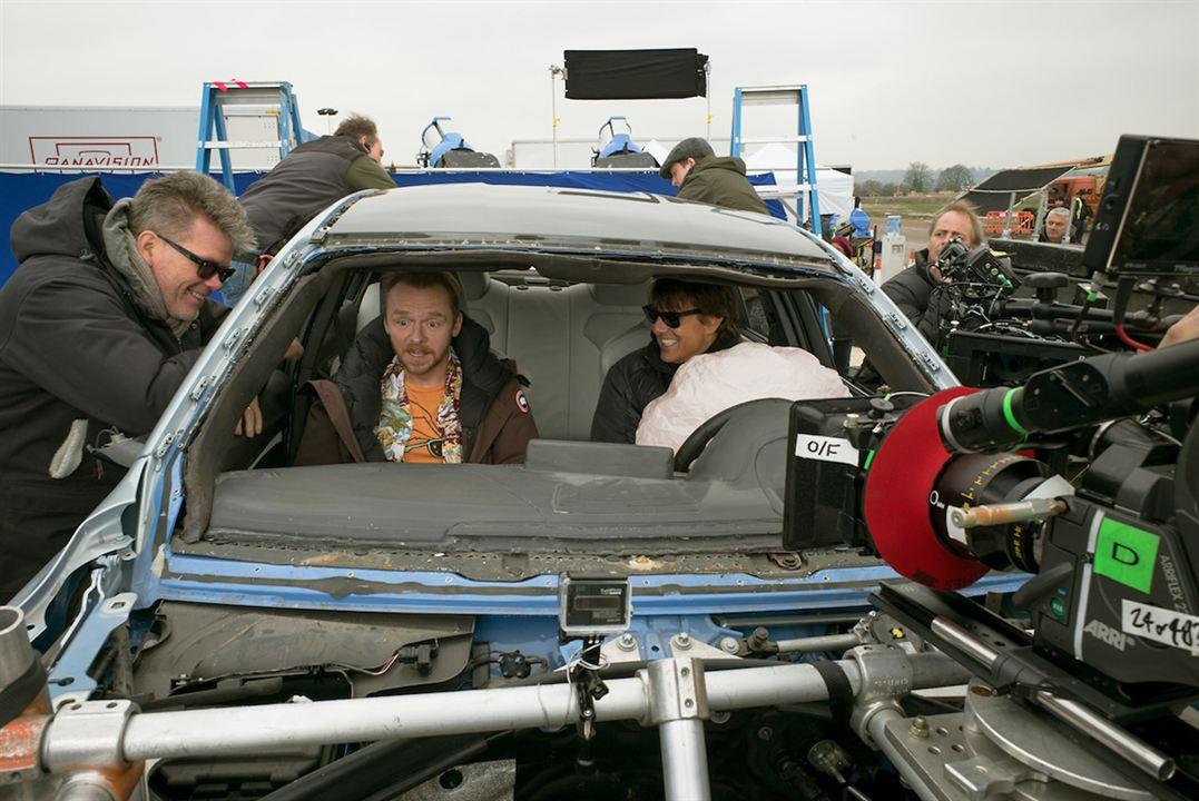Missão Impossível - Nação Secreta : Foto Christopher McQuarrie, Simon Pegg, Tom Cruise