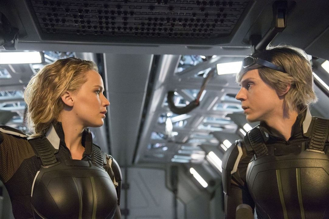X-Men: Apocalipse : Foto Evan Peters, Jennifer Lawrence
