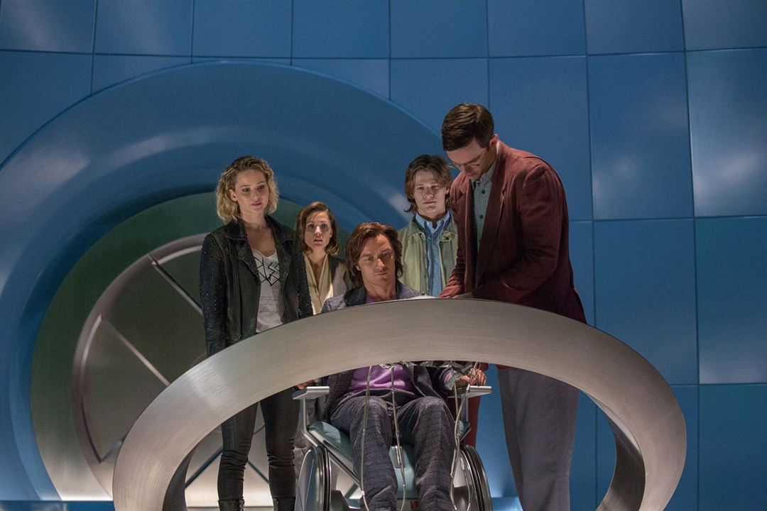 X-Men: Apocalipse : Foto James McAvoy, Jennifer Lawrence, Nicholas Hoult