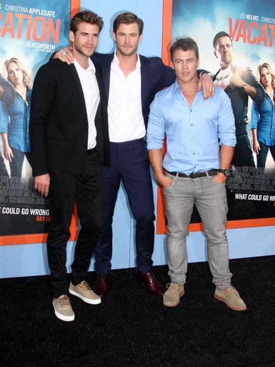 Férias Frustradas : Vignette (magazine) Chris Hemsworth, Liam Hemsworth, Luke Hemsworth