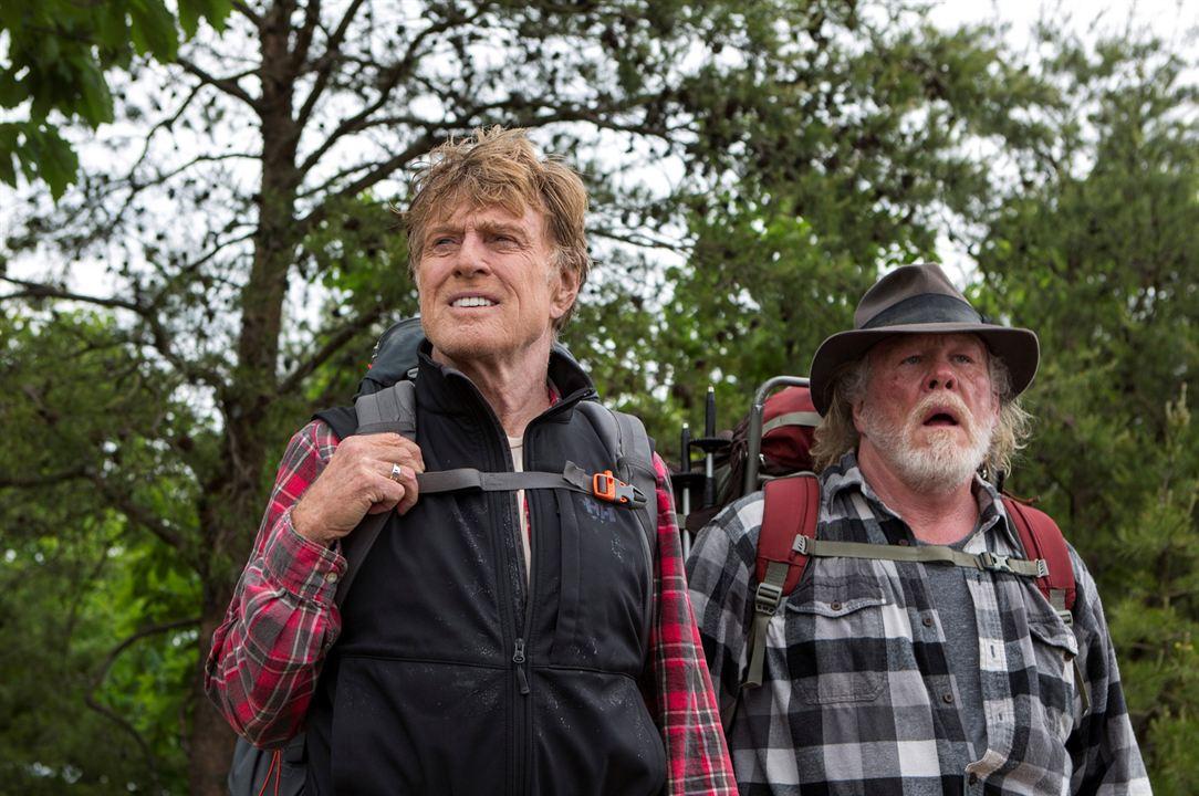 Por Aqui e Por Ali : Foto Nick Nolte, Robert Redford
