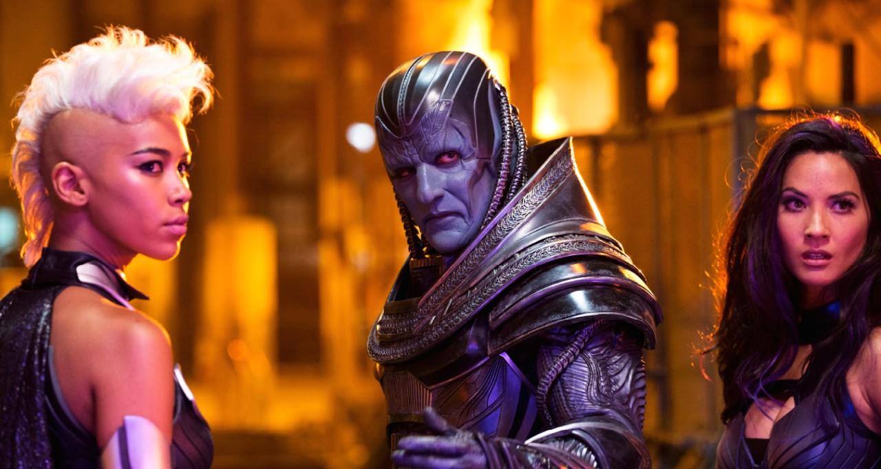 X-Men: Apocalipse : Foto Alexandra Shipp, Olivia Munn, Oscar Isaac