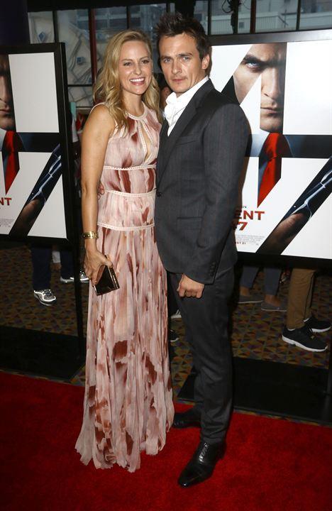 Hitman: Agente 47 : Vignette (magazine) Aimee Mullins, Rupert Friend