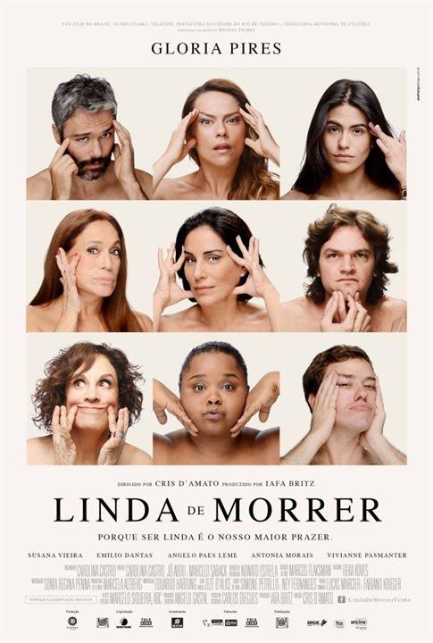 Linda de Morrer : Poster