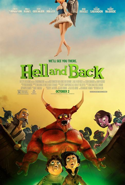 Hell & Back : Poster