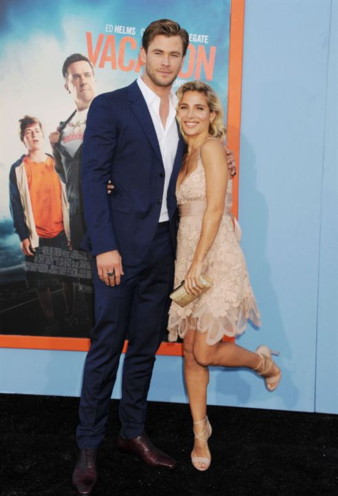 Vignette (magazine) Chris Hemsworth, Elsa Pataky