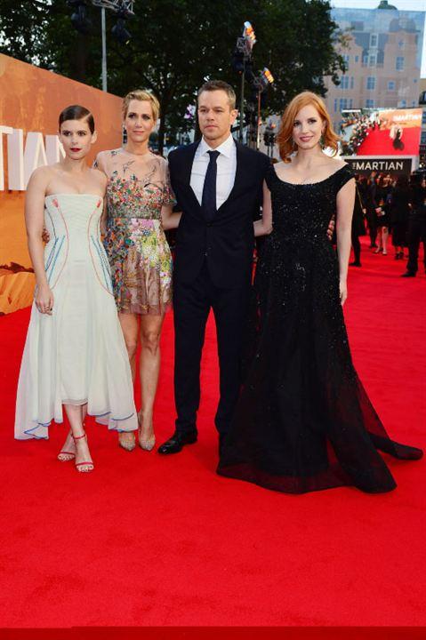 Perdido em Marte : Vignette (magazine) Jessica Chastain, Kate Mara, Kristen Wiig, Matt Damon
