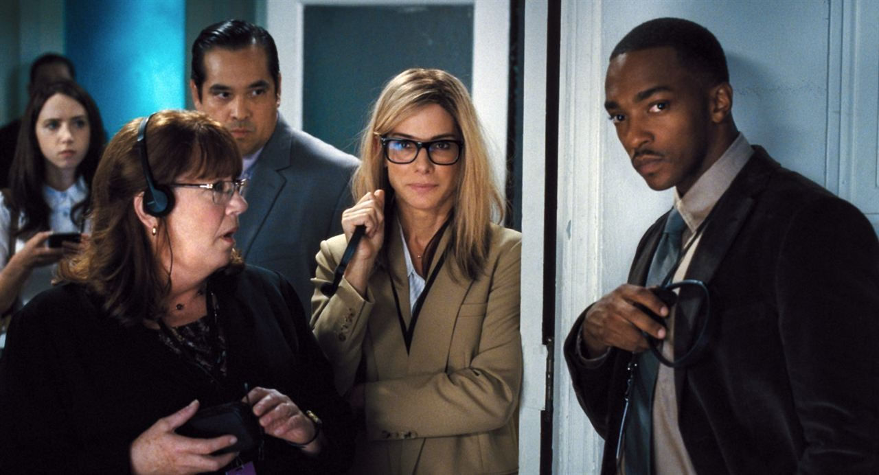 Foto Ann Dowd, Anthony Mackie, Dominic Flores, Sandra Bullock