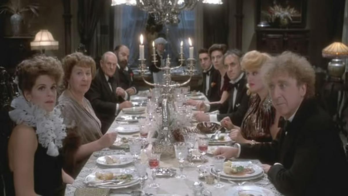Lua de Mel Assombrada : Foto Gene Wilder, Gilda Radner, Paul L. Smith, Peter Vaughan, Roger Ashton-Griffiths