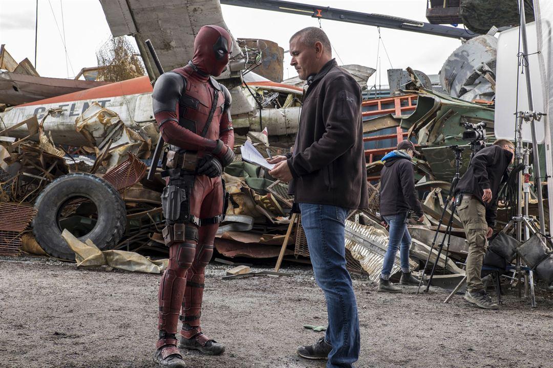 Deadpool : Foto Ryan Reynolds, Tim Miller