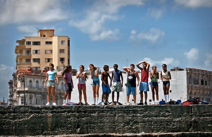 Numa Escola de Havana : Foto