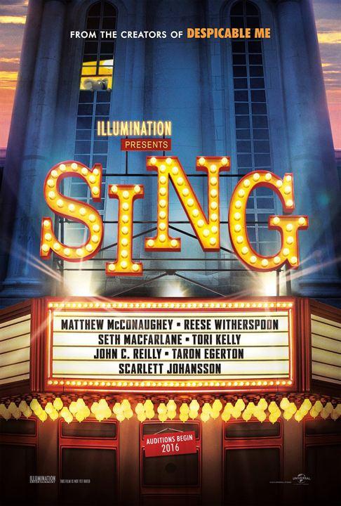 Sing - Quem Canta Seus Males Espanta : Poster