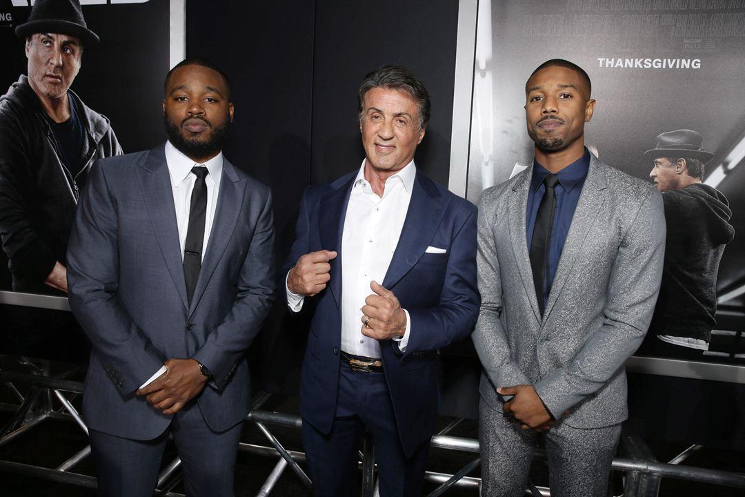 Creed: Nascido Para Lutar : Vignette (magazine) Michael B. Jordan, Ryan Coogler, Sylvester Stallone