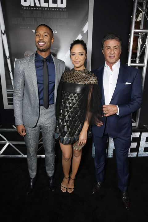 Creed: Nascido Para Lutar : Vignette (magazine) Michael B. Jordan, Sylvester Stallone, Tessa Thompson