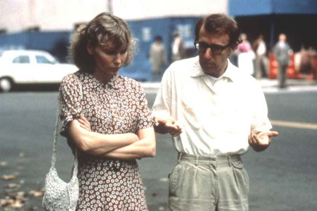 Hannah e Suas Irmãs : Foto Mia Farrow, Woody Allen